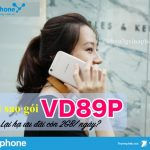 Tại sao gói VD89P Vinaphone lại hạ ưu đãi về còn 2GB/ngày